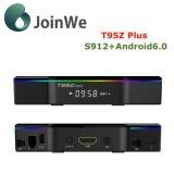 2GB/16GB KodiとT95zはS912アンドロイド6.0 TVボックスをプレインストールする
