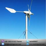 Sistema da turbina de vento para a área remota