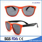 Солнечные очки рамки типа способа просто конструкции померанцовые для малышей
