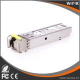 통신망 제품 100Base-BX 1550nm Tx/1310nm Rx 20km SFP BIDI 광학적인 송수신기 모듈