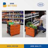 スーパーマーケットのためのバスケットの容器を折る製造業者