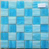 Colore di vetro di bianco del mosaico 48mmby 48mm