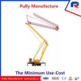 Grue à tour mobile pliable de plusieurs manières 28m de poulie de hauteur remorquable de tour de la fabrication à vendre in&#160 ; L'Inde (MTC28065)