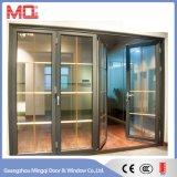 Porte de pliage en aluminium extérieure d'interruption thermique