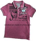 Melange van de kleur het Katoenen Overhemd van het Polo voor Borduurwerk