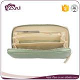 Бумажник муфты PU зеленого цвета Fani для повелительницы, Handmade бумажники продает оптом
