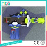 高品質のプラスチック子供の屋外の運動場の製造業者(HS04301)