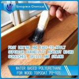 Poliuretano a base d'acqua per il Topcoat di legno (PU-105)