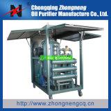 Máquina dobro funcional da filtragem do petróleo do transformador do vácuo do estágio