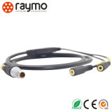 Serie 104 Conector corto y recto Conector circular impermeable de 8 patillas
