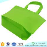 Tela não tecida do Polypropylene de Spunbond usada para sacos de compra