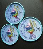 صنع وفقا لطلب الزّبون سمكة تصميم ترقية يحاك شامة