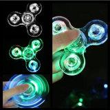 Handlicher Kristallspinner mit bunten LED-Lichtern