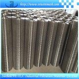 交通機関で使用されるSGSのレポートを用いるステンレス鋼の溶接された網