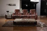 Modernes Möbel-Oberseite-Leder-Sofa (CK-803)
