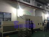 Macchinario idraulico orizzontale automatico resistente della mattonella dei trucioli