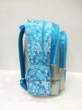 Morral congelado nuevo diseño para Grils, bolsos del satén 2017 de escuela
