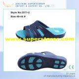 Deslizador de encargo de EVA del calzado, nuevo estilo deslizador del hombre de color de dos capas