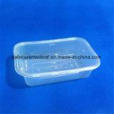 Rectángulo de empaquetado del alimento de la ampolla plástica clara de Disposbale PP