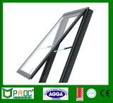 Finestra appesa superiore di profilo di alluminio economizzatore d'energia con vetro Tempered