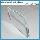 窓ガラスのための2-19mmの低い鉄のガラス緩和されたガラス