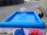 Preiswertes Preis-Quadrat-aufblasbarer Swimmingpool für Mietwerbung