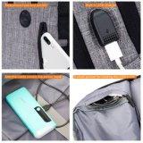 Multi-Compartimento impermeável para laptop / computador mochila Mochila de viagem com porta USB Carregador