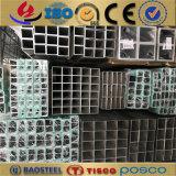 Óvalo anodizado sacado 6061 tubo redondo de aluminio 6063 7075