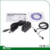 Lector de tarjetas del golpe fuerte Mini300 (MIni123), lector de tarjetas del USB Msr para la mini desnatadora de la tarjeta