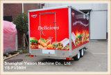 Remorques multifonctionnelles de restauration de remorque de nourriture de Ys-Fv390h Churros à vendre
