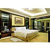 Proteção ambiental feito-à-medida mobília de madeira do quarto do hotel