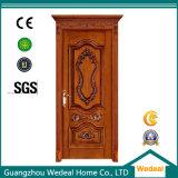 Personalizar a porta de madeira interior da parte alta com material contínuo do núcleo