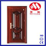 Seguridad de 2017 puerta de acero exterior caliente del hierro de la sola diseños