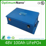 Bateria de íon de lítio da potência verde LiFePO4 48V 100ah para o veículo eléctrico