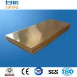 Placa de bronze de cobre de Cc382h para o equipamento elétrico Cn1
