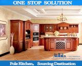 Melamin, hoher Glanz-Lack, Kurbelgehäuse-Belüftung, festes Holz-Küche