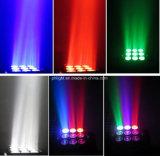 3X3 lumière principale mobile de lavage de faisceau de matrice de la quarte DEL pour l'éclairage d'étape d'usager de club de disco