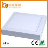 Voyant d'intérieur en aluminium du support 300X300 DEL de surface de grand dos de plafond de la lampe 24W de RoHS de la CE