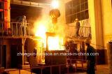 Forno di fusione di induzione per media frequenza di 1 tonnellata utilizzato per ferro/acciaio/rame