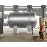 Roestvrij staal Bedfast/de Horizontale Vloeibare Tank van de Opslag