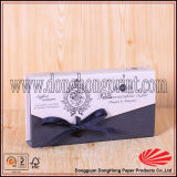 Contenitore a forma di impaccante di caramella del libro del regalo di carta rigido popolare