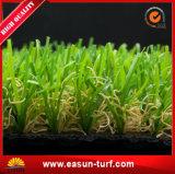 Relvado sintético Anti-UV verde ao ar livre e interno da grama de Graden