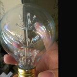 Lâmpada dos fogos-de-artifício da ampola E27 do diodo emissor de luz de G95 2W