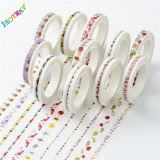 Japonés de la cinta de Washi del papel de la decoración de DIY
