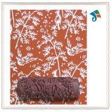 Herramientas de bricolaje Cepillo en relieve patrón de flores de pintura decorativa Roller