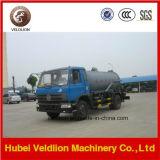 carro de las aguas residuales 7000L para aspirar las aguas residuales inútiles con la bomba de vacío