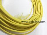 Vingt-quatre câbles optiques miniatures de fibre du faisceau LC-LC