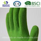 Enduit de nitriles, gants de travail de sûreté de fini de Sandy (SL-NS111)