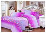 新しく優雅な寝具の一定の大型4PC羽毛布団カバー一定のMicrofiberの極度の柔らかい生命