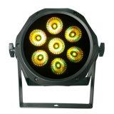 7X10W RGBA 4in1 (ICON-A068-7)를 가진 옥외 LED 동위 빛